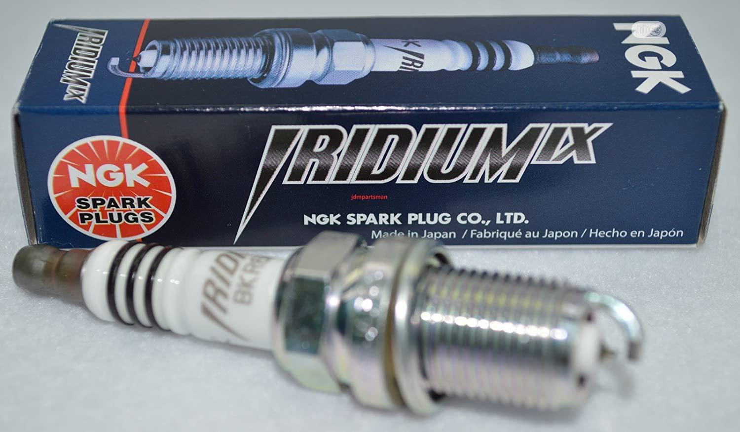 6 PCS Of Genuine NGK 6619 Iridium Spark Plugs LFR6AIX-11