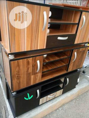 TV Stand Wooden.   Furniture for sale in Lagos State, Yaba