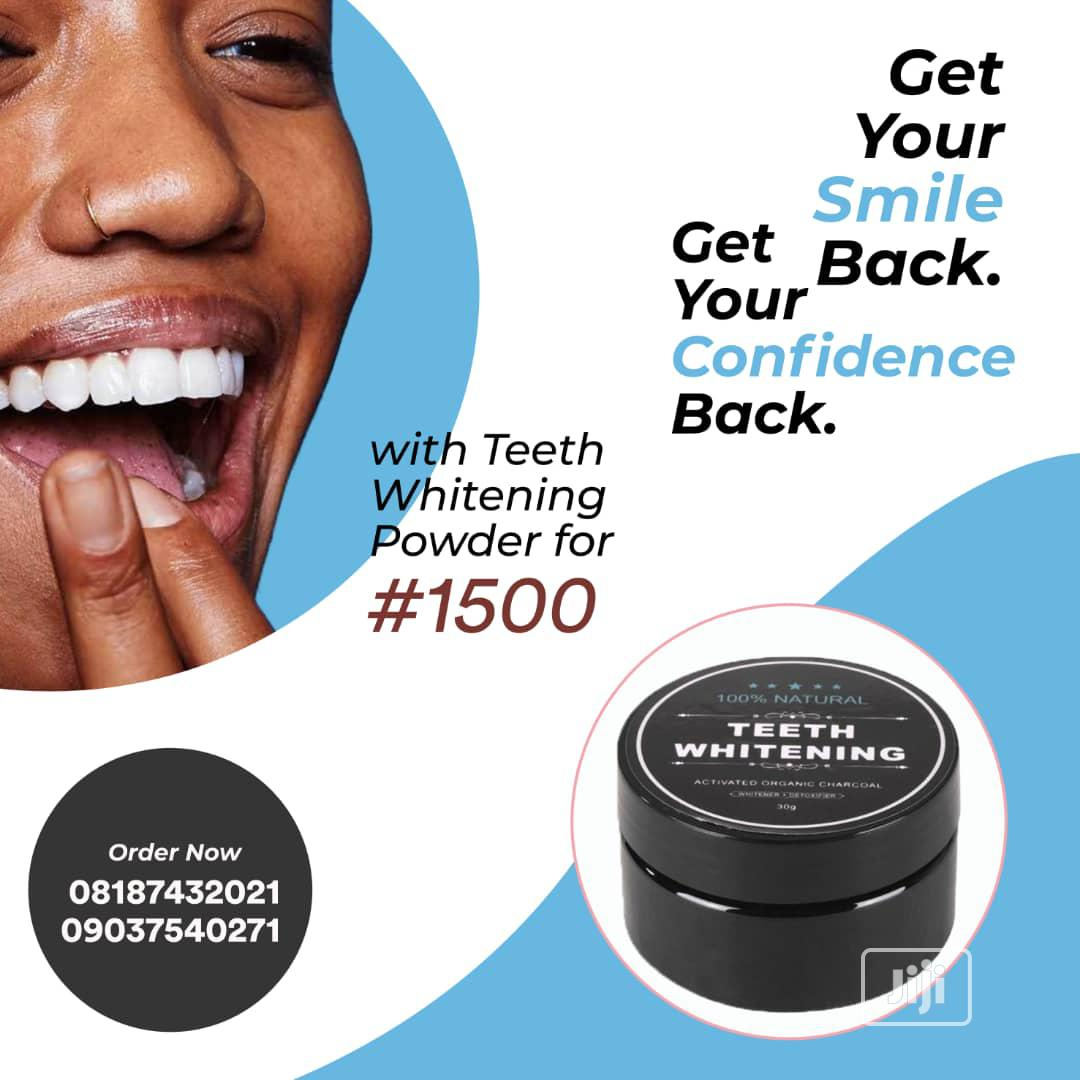 Archive: Teeth Whitening Powder