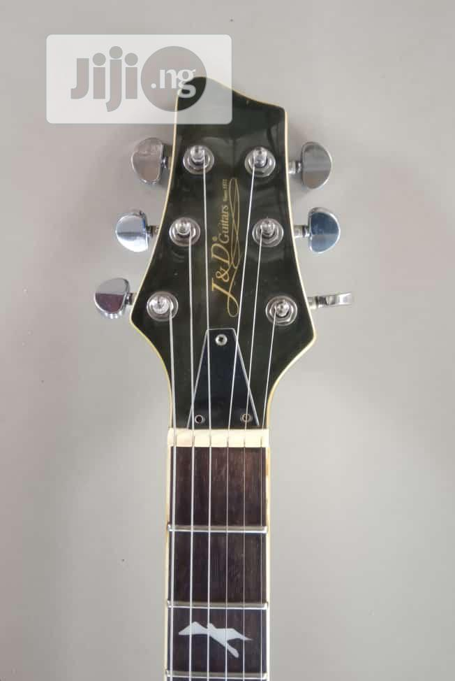 J And D Electric Guitar (Prs Style) With Bag