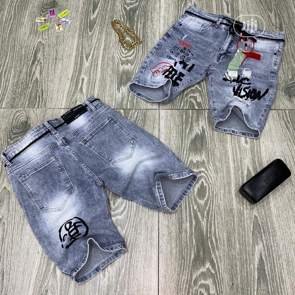 Archive: Authentic Offwhite Jeans Short