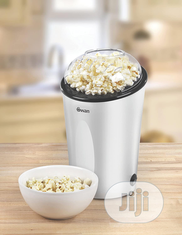 Swan Silver Popcorn Maker