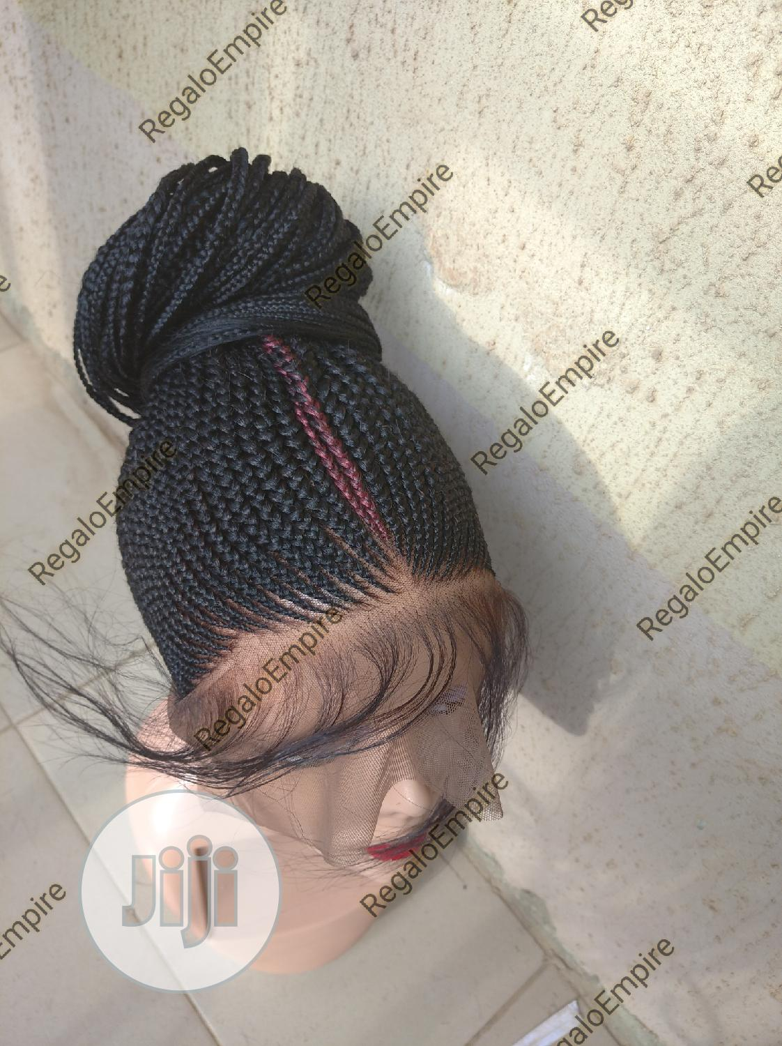 Neatly Made Braid Wigs | Hair Beauty for sale in Alimosho, Lagos State, Nigeria