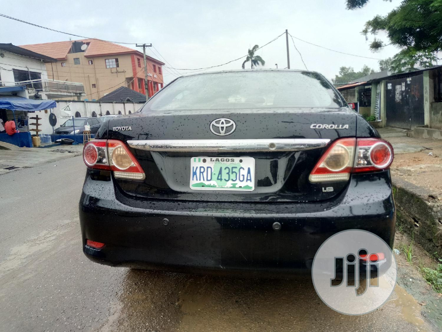 Toyota Corolla 2011 Black In Isolo Cars Nozierich Autos Ltd Timmy Jiji Ng For Sale In Isolo Buy Cars From Nozierich Autos Ltd Timmy On Jiji Ng