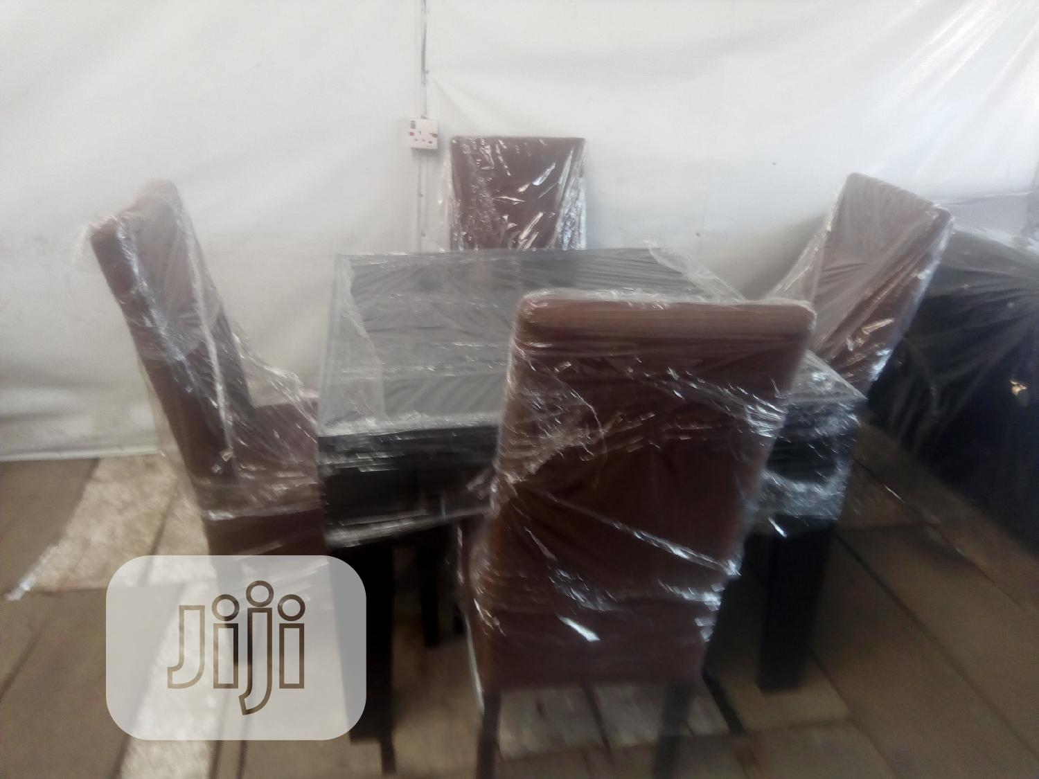 Four Sitter Dining Set   Furniture for sale in Ajah, Lagos State, Nigeria