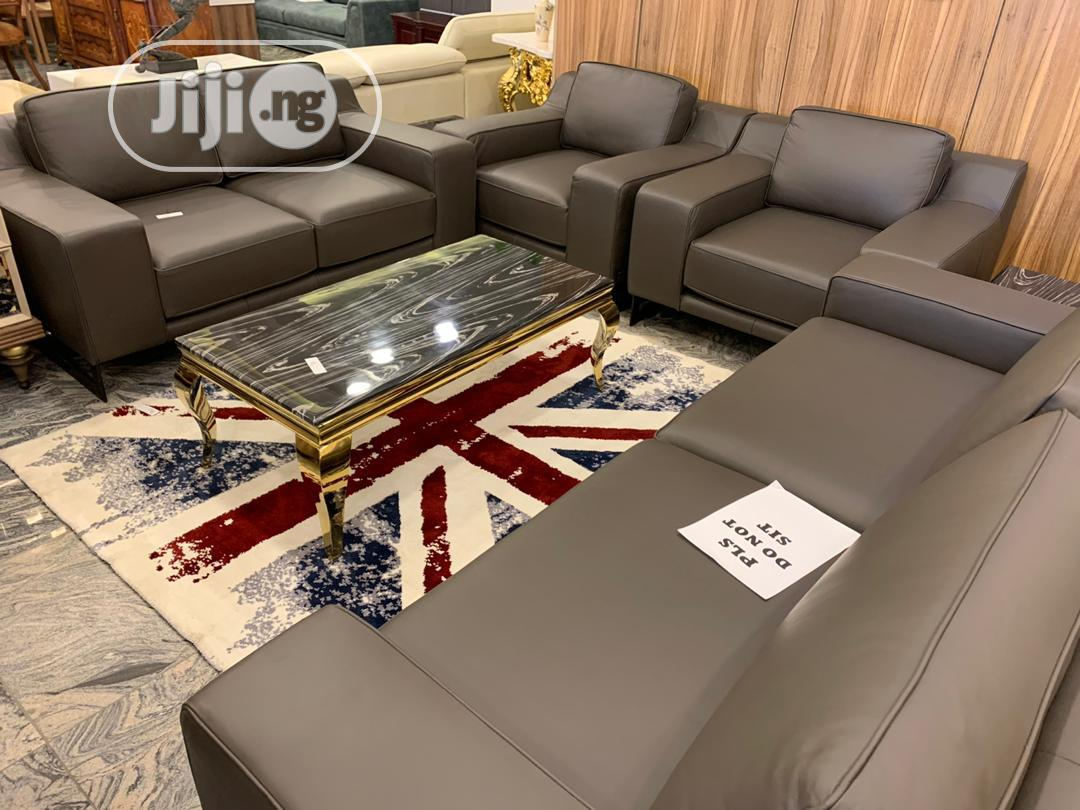 Executive Italian Leather Sofas