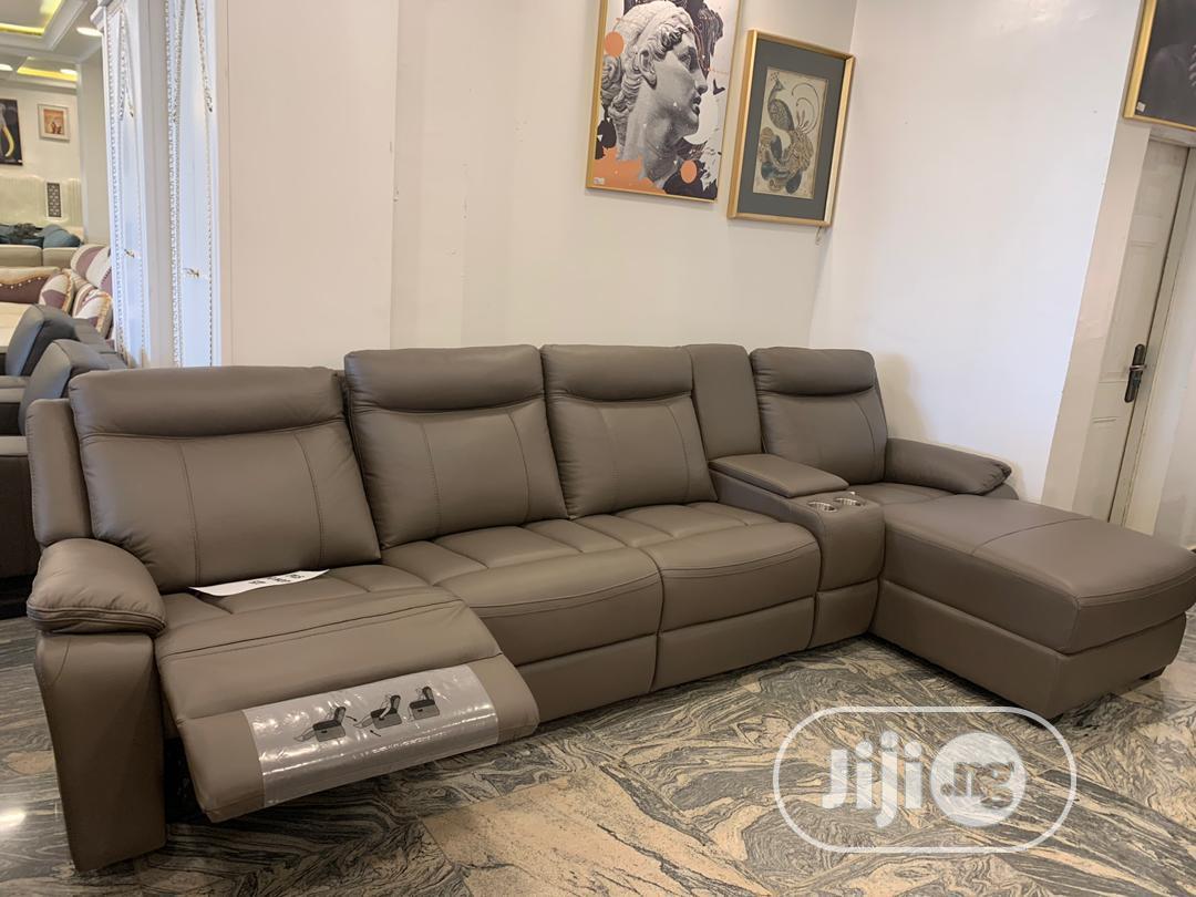 Executive Italian Leather Sofas | Furniture for sale in Yaba, Lagos State, Nigeria