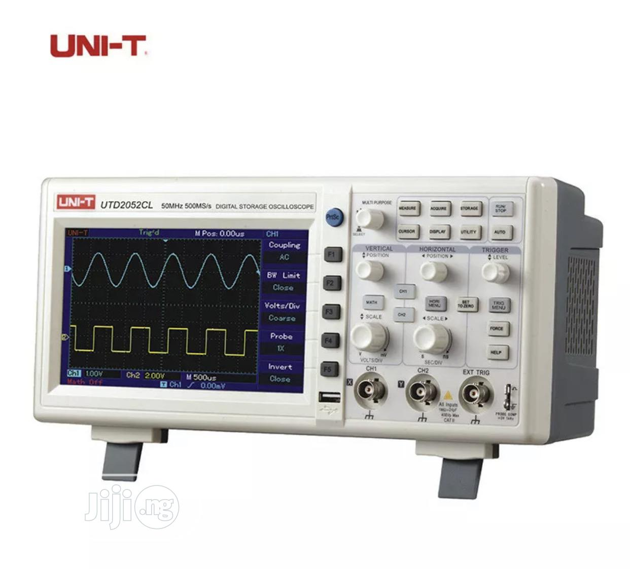 UTD2052CL Dual Channel Digital Storage Oscilloscope 50mhz | Medical Supplies & Equipment for sale in Ojo, Lagos State, Nigeria