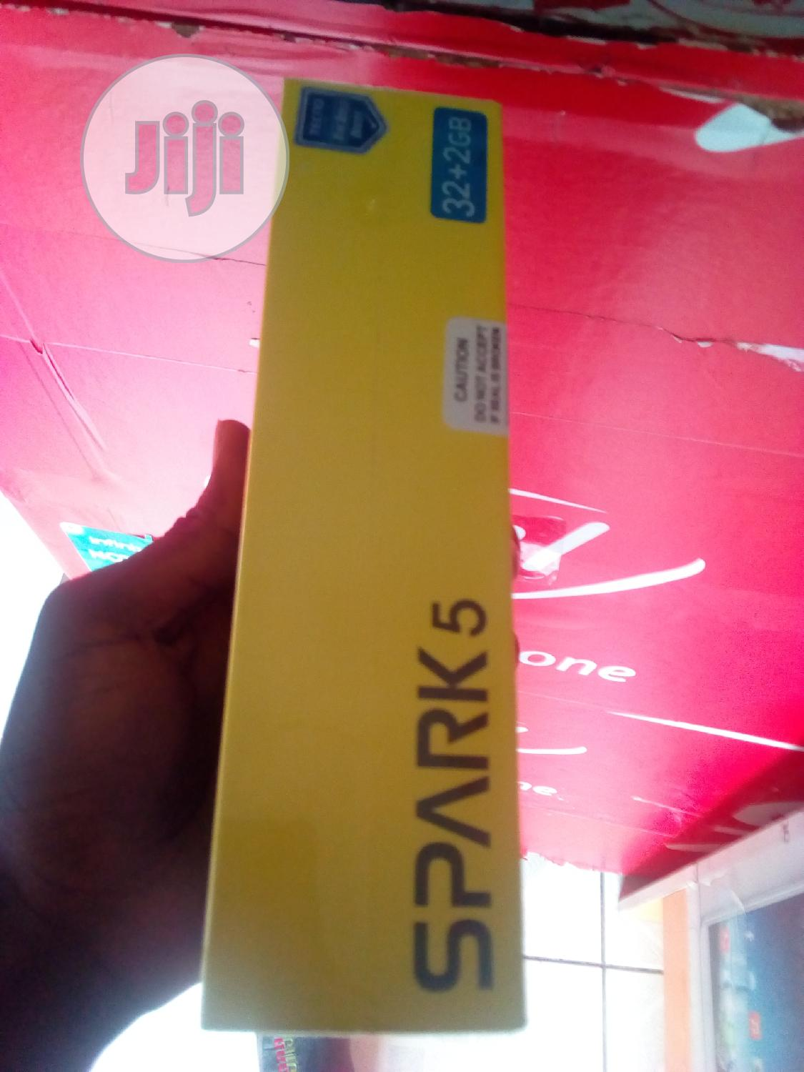 New Tecno Spark 5 32 GB Blue | Mobile Phones for sale in Wuse 2, Abuja (FCT) State, Nigeria