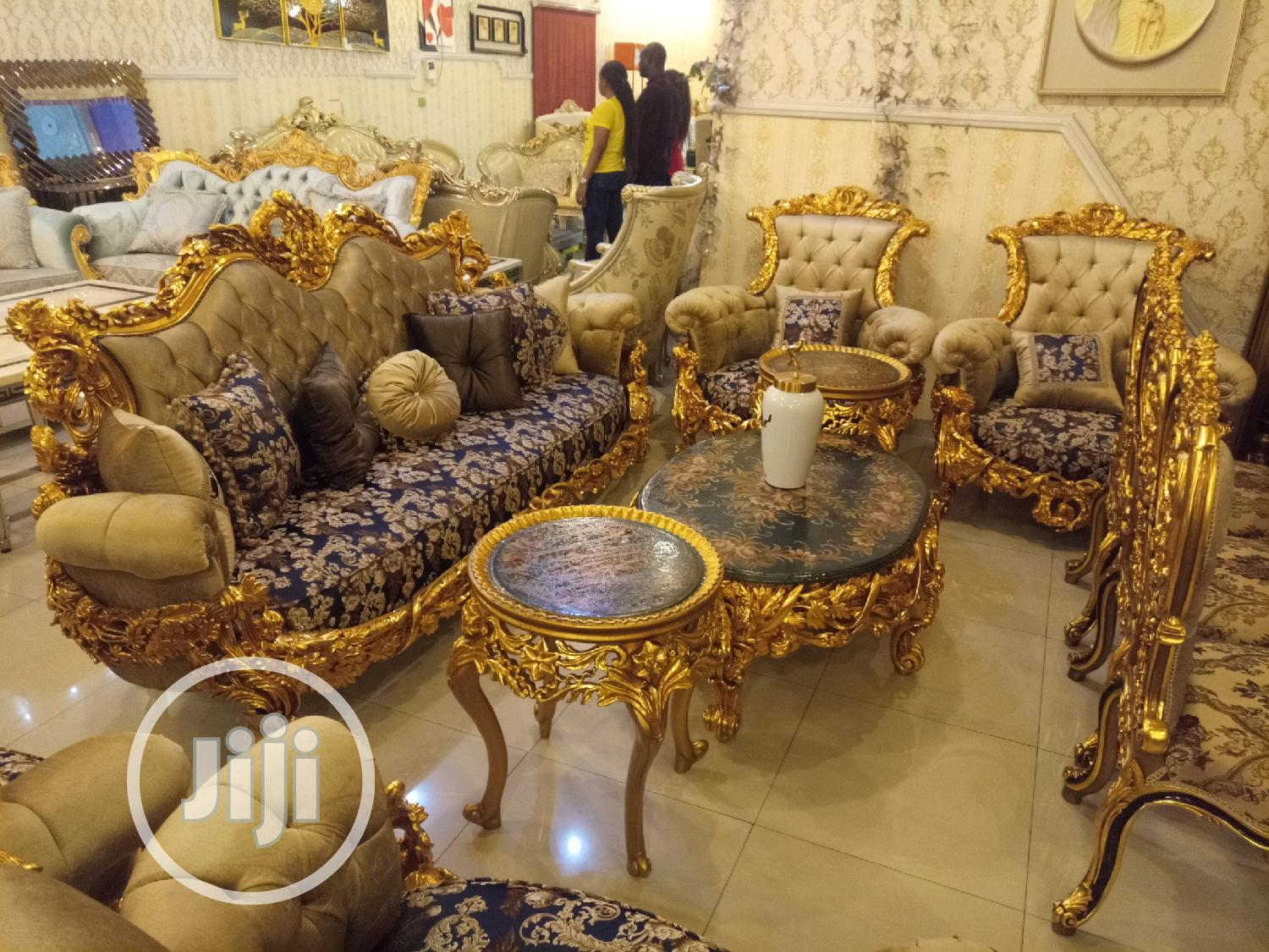 Archive: Executive Royal Sofa Set, Specially Hand Crafted