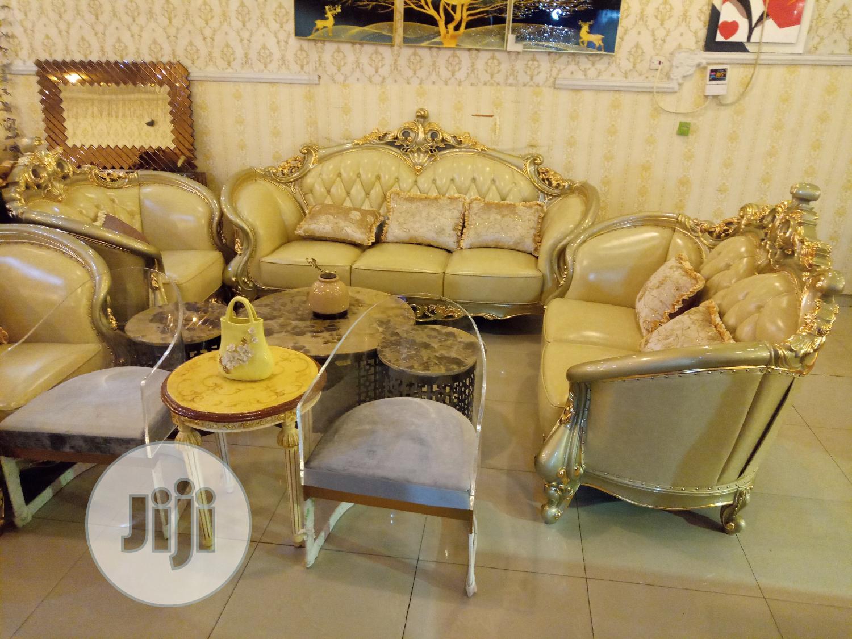 Quality Turkish Sofa Set, Pure Leather