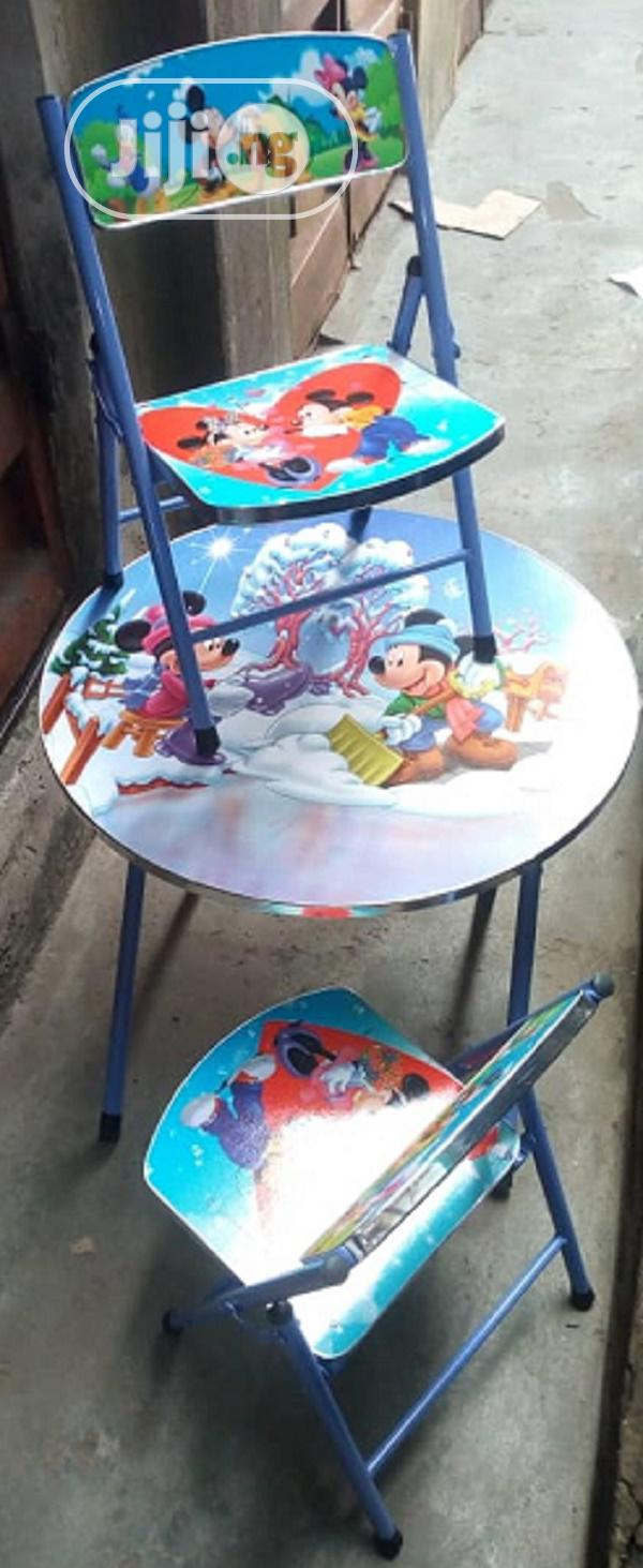 Character Kids Study Foldable Table & Chair