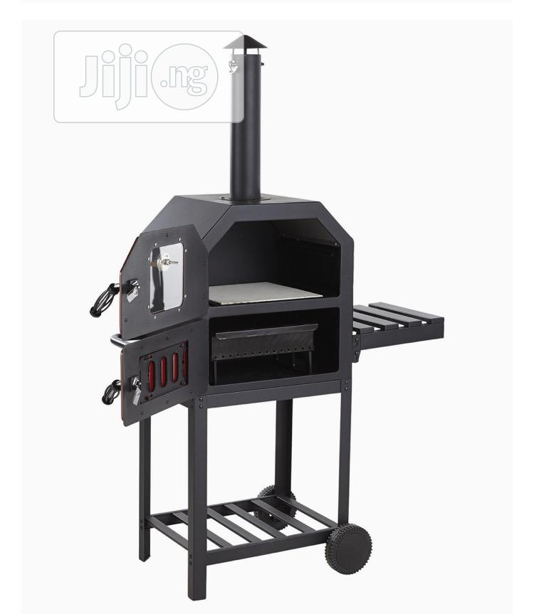 NEW Tesco Multifunction Charcoal Pizza Oven With Side Shelf | Kitchen Appliances for sale in Lagos Island (Eko), Lagos State, Nigeria