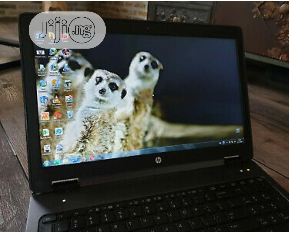 Laptop HP ZBook 15 8GB Intel Core I7 HDD 500GB   Laptops & Computers for sale in Kubwa, Abuja (FCT) State, Nigeria