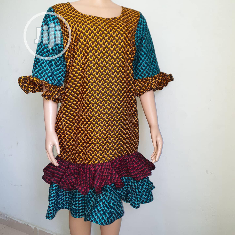 Ankara Shift Dress