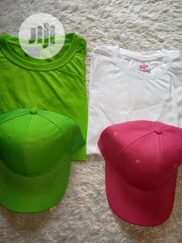 Archive: Plain T-shirt And Face Cap