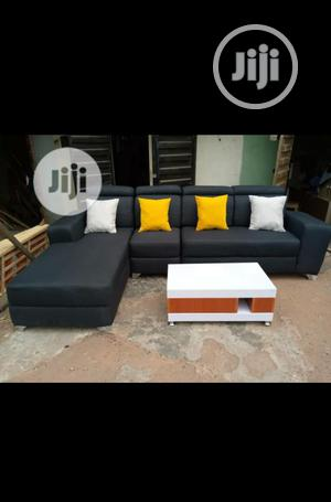 New Set of L-Shaped Sofa With a Center Table | Furniture for sale in Lagos State, Agege