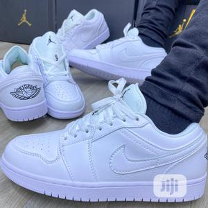 Air Jordan 1 Triple White Sneakers | Shoes for sale in Lagos State, Surulere