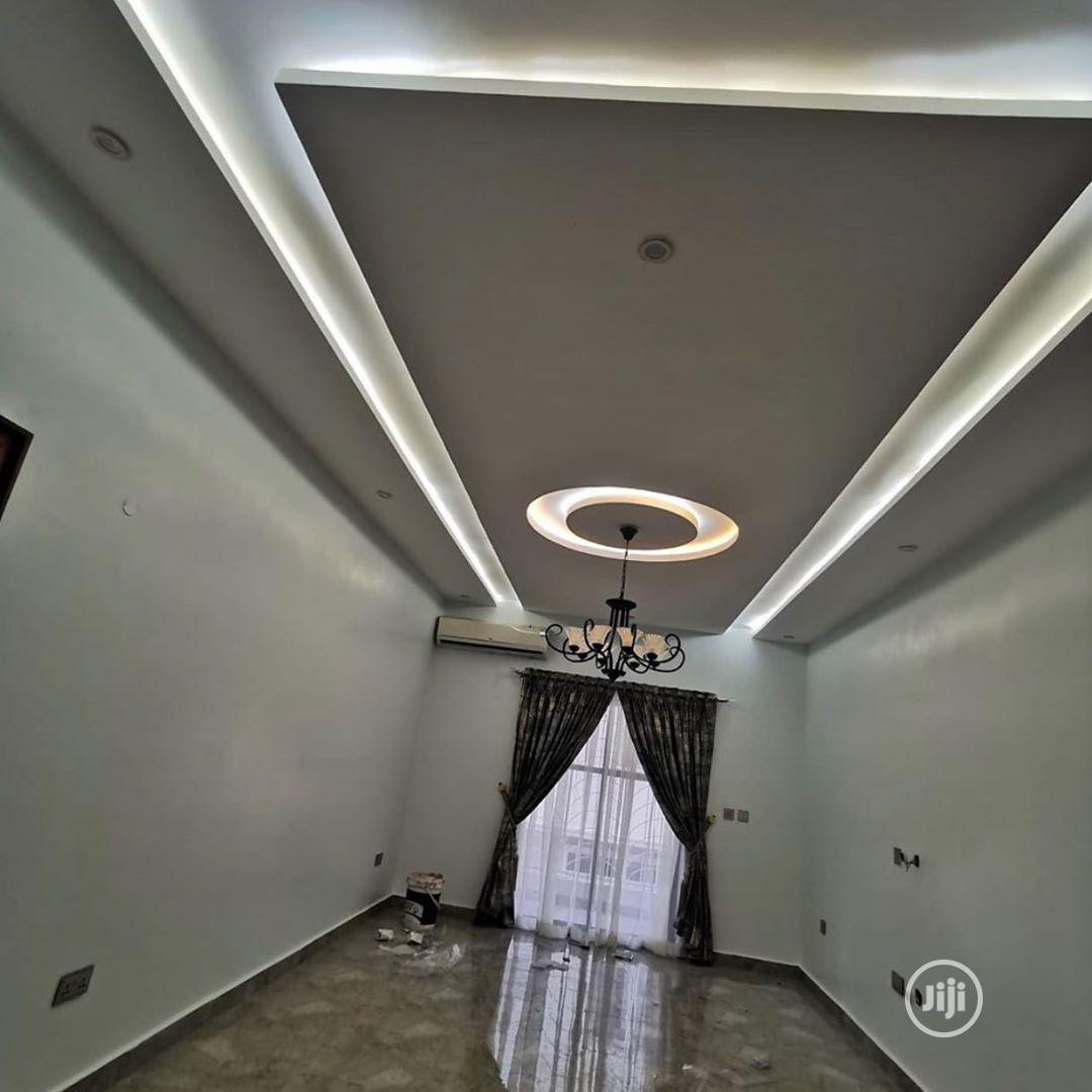 Pop Ceiling Designs And TV Stand, Wall Screeding And Design | Building & Trades Services for sale in Ibeju, Lagos State, Nigeria