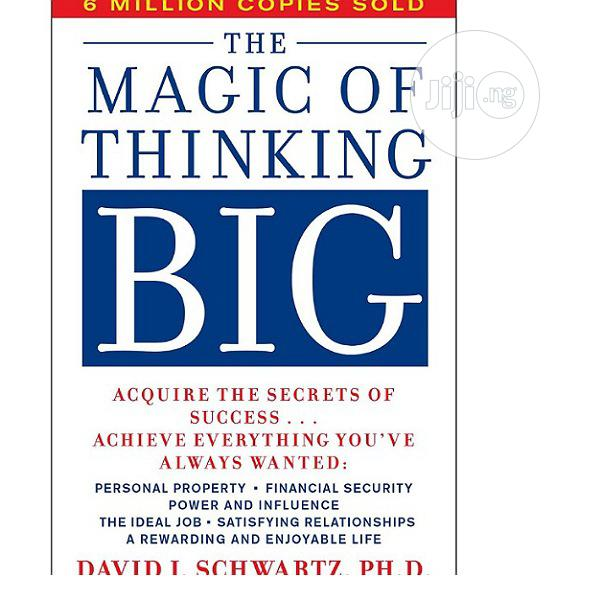 Magic Of Thinking Big.Free Delivery | Books & Games for sale in Surulere, Lagos State, Nigeria