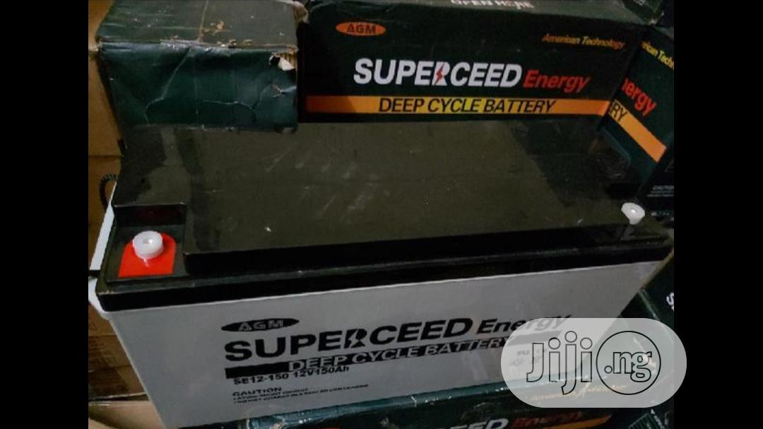 Archive: Superceed 150ah 12v Battery High Quality