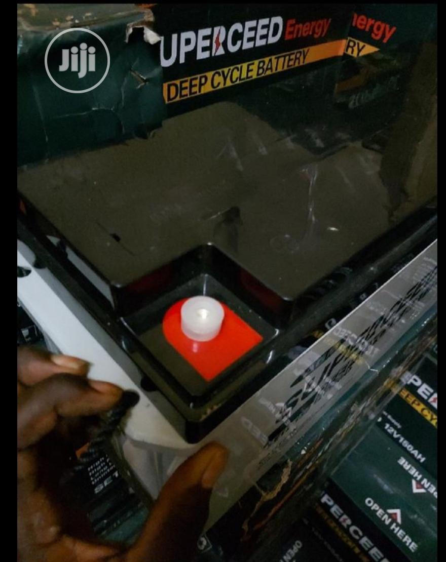 Superceed Energy 150ah 12v Battery | Solar Energy for sale in Ojo, Lagos State, Nigeria