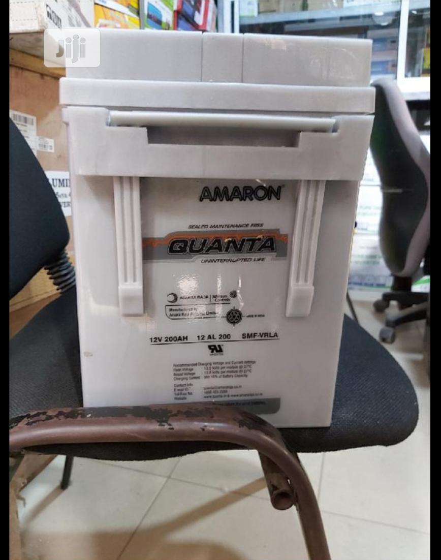 High Quality Quanta 200ah 12v Battery