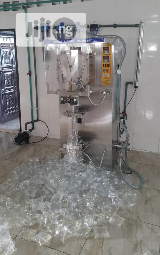 Pure Water Sachet Filling Pure Water Machine | Manufacturing Equipment for sale in Ojo, Lagos State, Nigeria