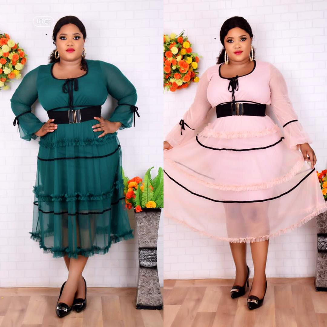 Fashion Dress For Ladies/Women Available In Different Sizes