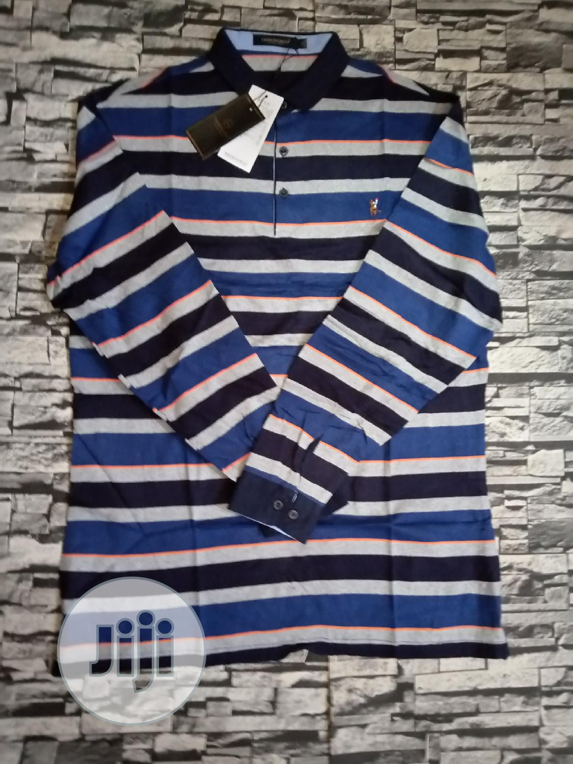 Long Sleeve Polo | Clothing for sale in Oshimili South, Delta State, Nigeria