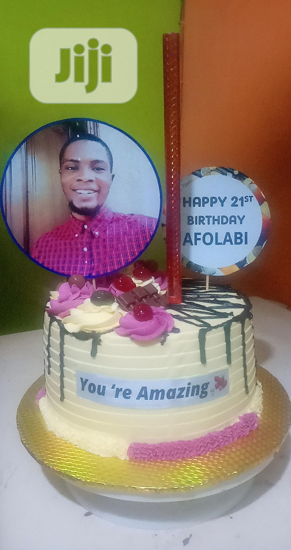 Archive: Birthday Cake by at Oluwaseunevents