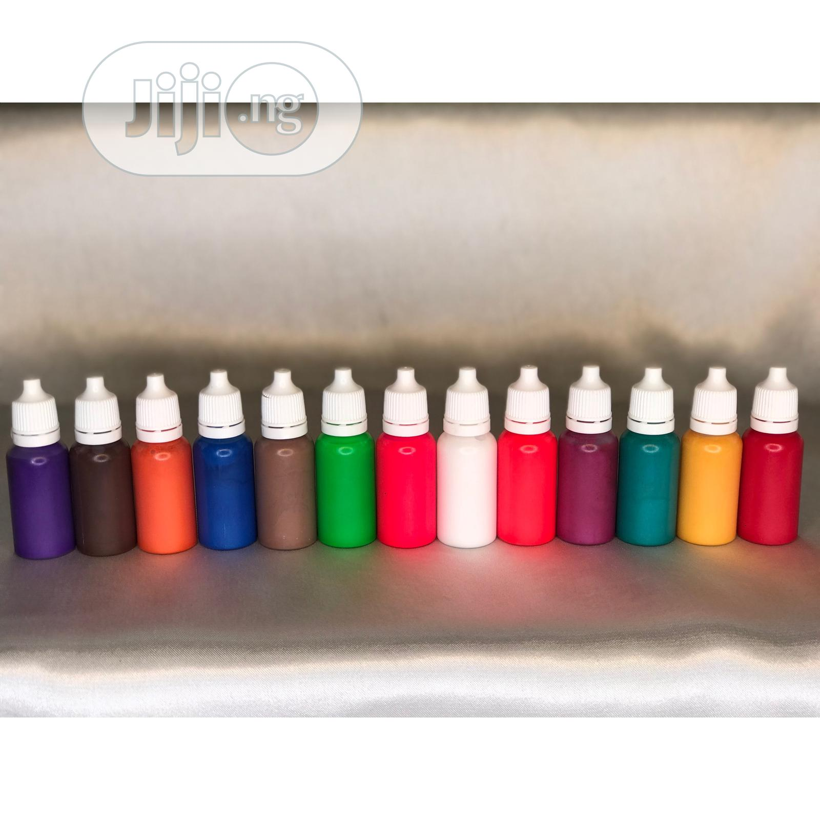 Archive: Mica Pigment & Liquid Pigment