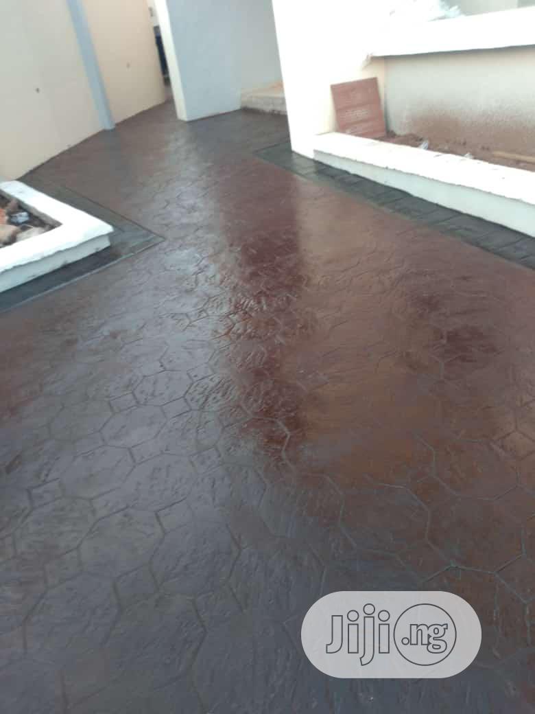 Archive: Decorative Stamped Concrete Floors