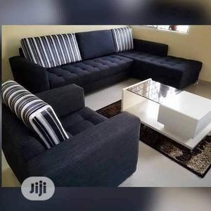 New Set of L-Shaped Sofa With One Single and a Center Table. | Furniture for sale in Lagos State, Isolo