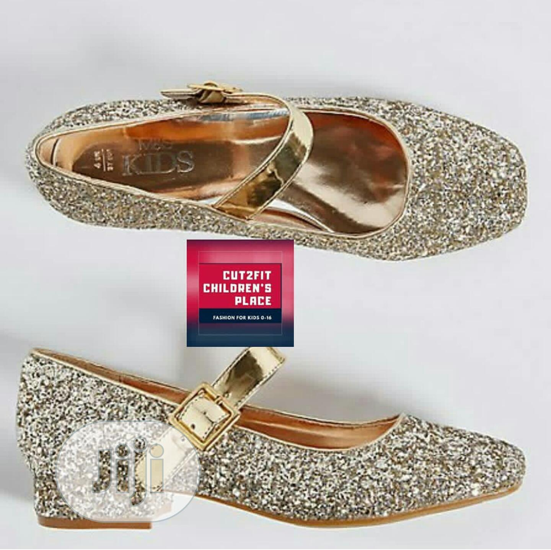 Marks And Spencer Block Heel Shoe For Big Girls