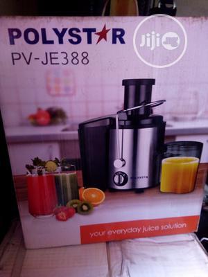 Polystar Juice Extractor 400wattss. 2 Speed Motor. | Kitchen Appliances for sale in Lagos State, Ojo