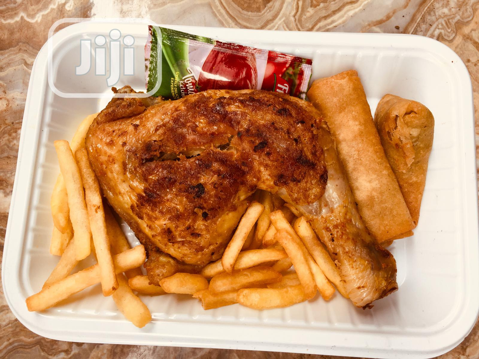 Chicken/Turkey, Chips Barbeque | Meals & Drinks for sale in Oshodi, Lagos State, Nigeria