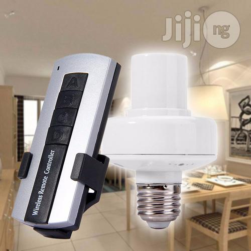 Wireless Remote Control Lamp Holder | Accessories & Supplies for Electronics for sale in Ikeja, Lagos State, Nigeria