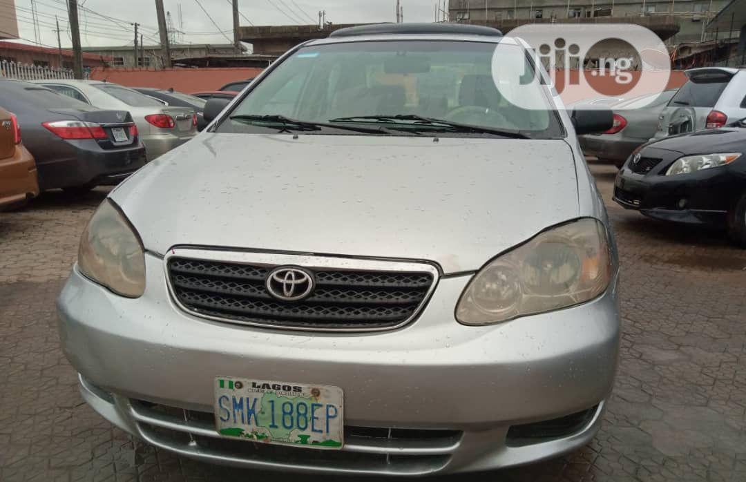 Toyota Corolla 2006 In Ojodu Cars Fidel Nnonyelu Jiji Ng For Sale In Ojodu Buy Cars From Fidel Nnonyelu On Jiji Ng
