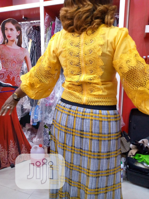 Yellow Nancy Top   Clothing for sale in Amuwo-Odofin, Lagos State, Nigeria