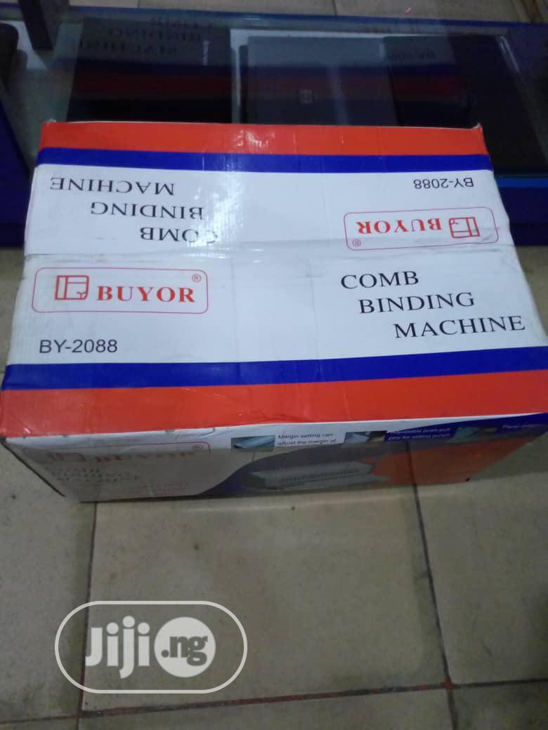 Buyor Binding Machine BY-2088