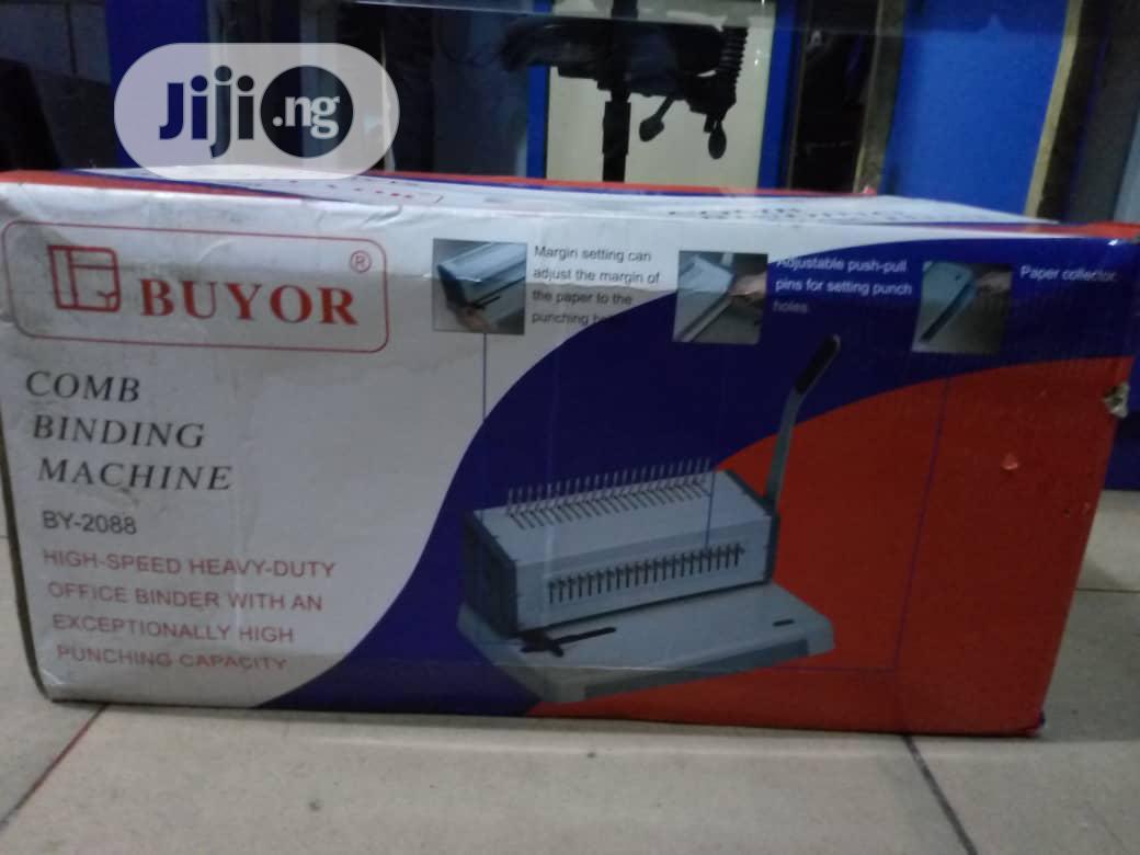 Buyor Binding Machine BY-2088 | Printing Equipment for sale in Ikeja, Lagos State, Nigeria