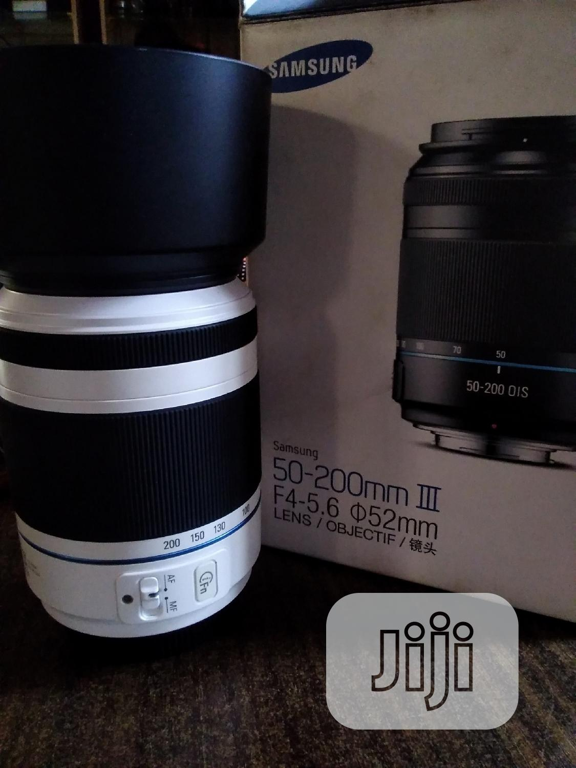 Samsung 50-200mm Ill F4-5.6 Lens | Accessories & Supplies for Electronics for sale in Alimosho, Lagos State, Nigeria