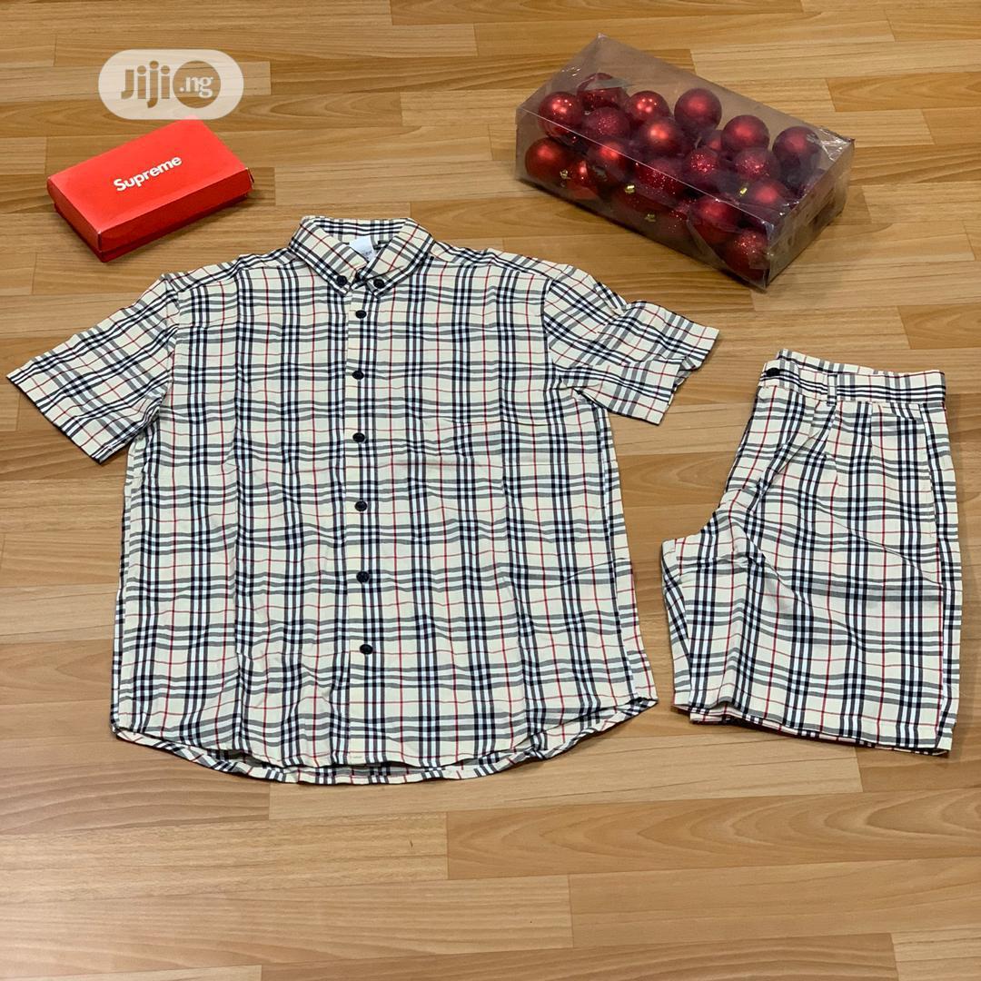 Men's Shirt And Shorts