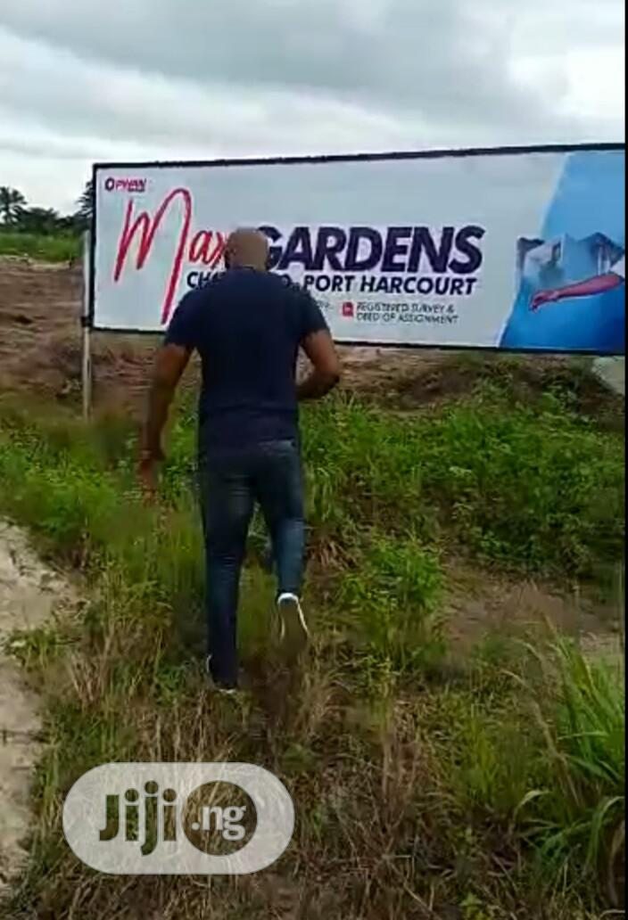 Estate Land Available in a Built Up Area, at Port Harcourt.
