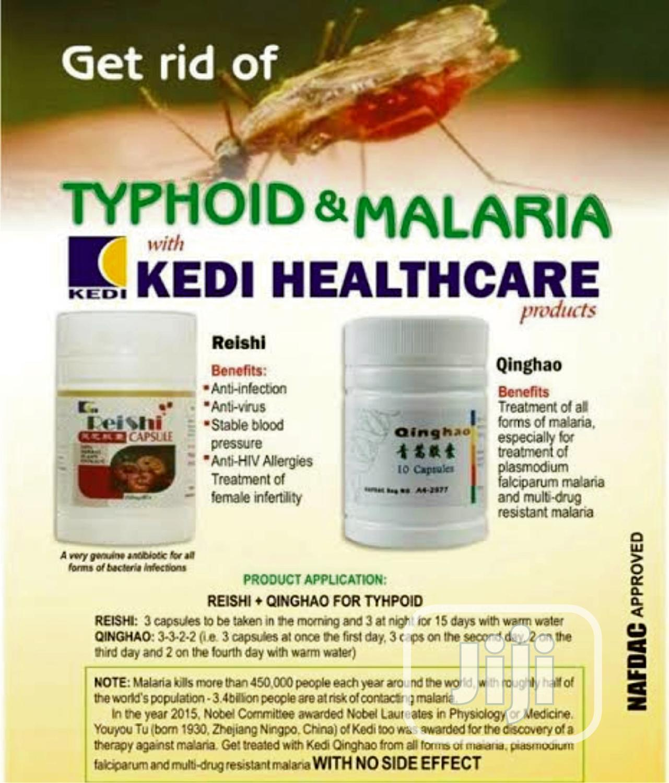 Kedi Reishi And Qinghao Typhiod And Malaria