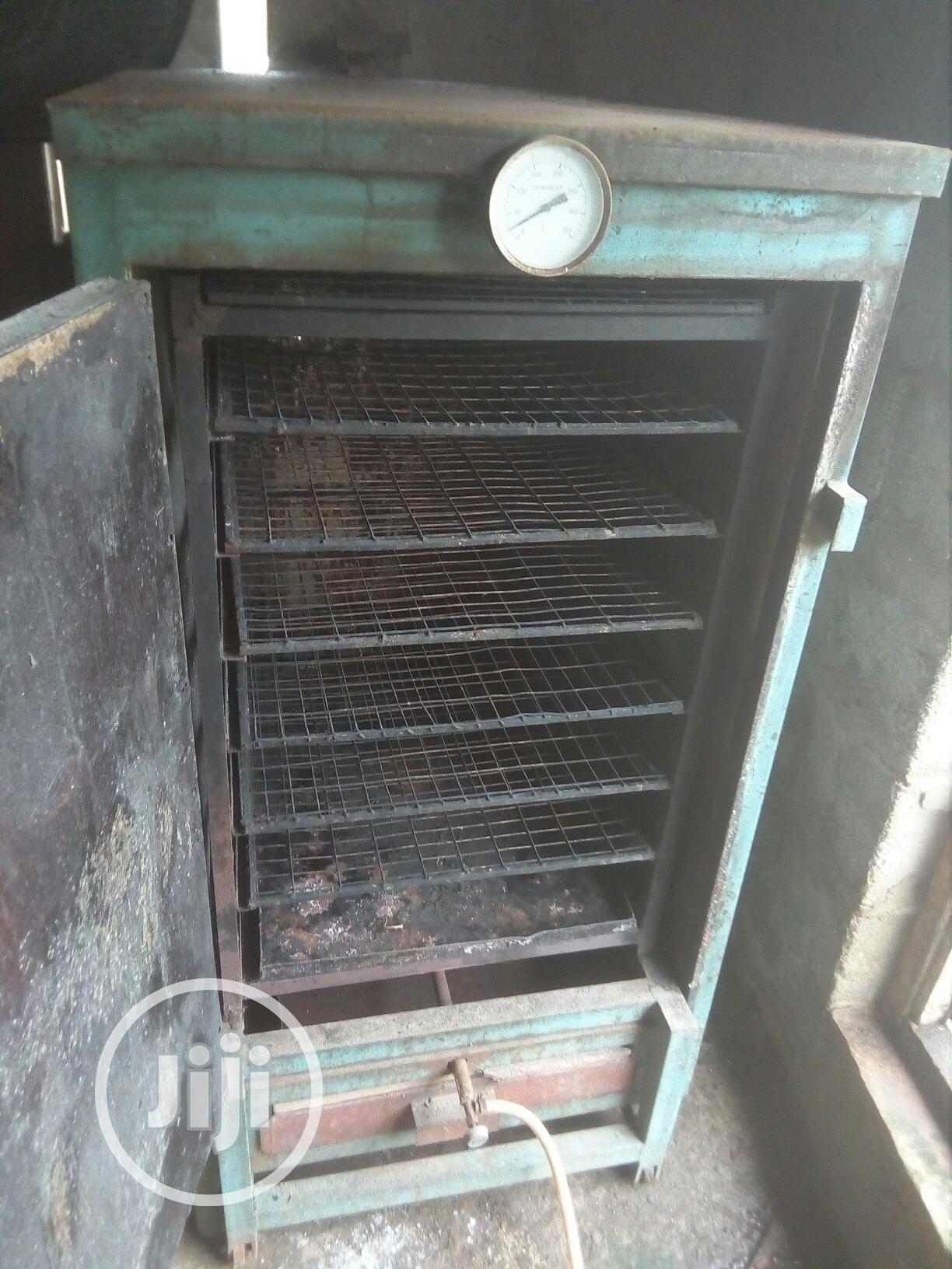 Archive: Used Quality Gas Or Charcool Fish Smoking Oven