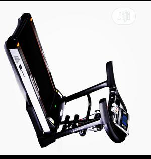4hp Body Fit Treadmill With Massager Heavy Duty   Sports Equipment for sale in Lagos State, Ojo