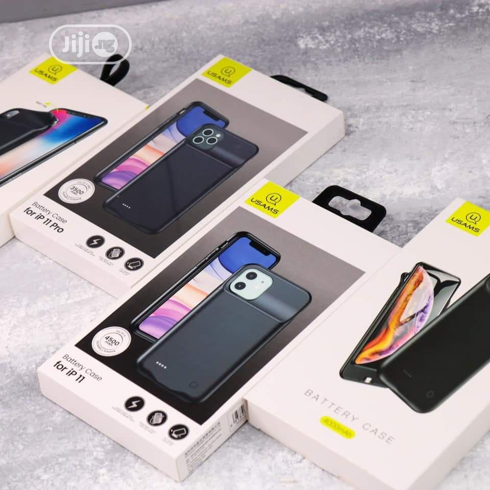 USAMS iPhone 11& 11 Pro Battery Case