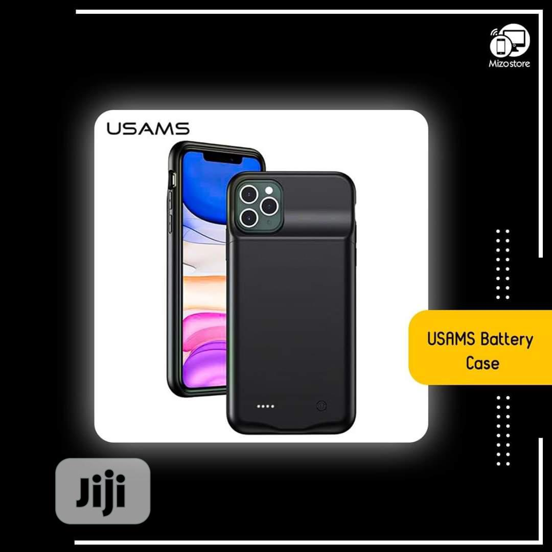 USAMS iPhone 11& 11 Pro Battery Case | Accessories for Mobile Phones & Tablets for sale in Victoria Island, Lagos State, Nigeria
